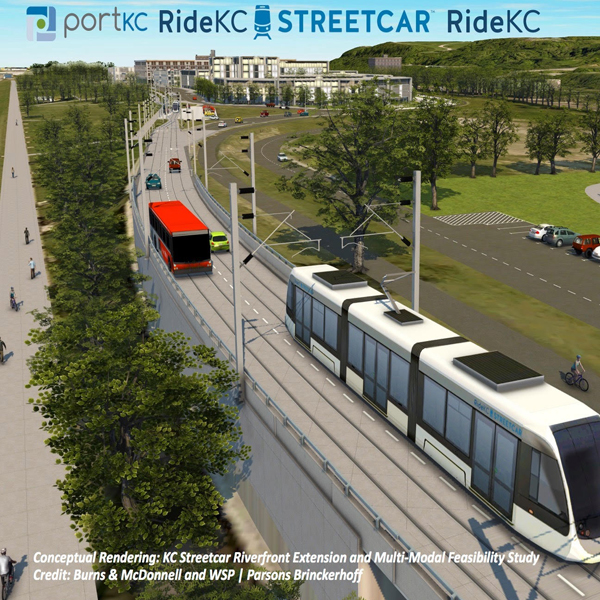 KC Streetcar – Riverfront Extension